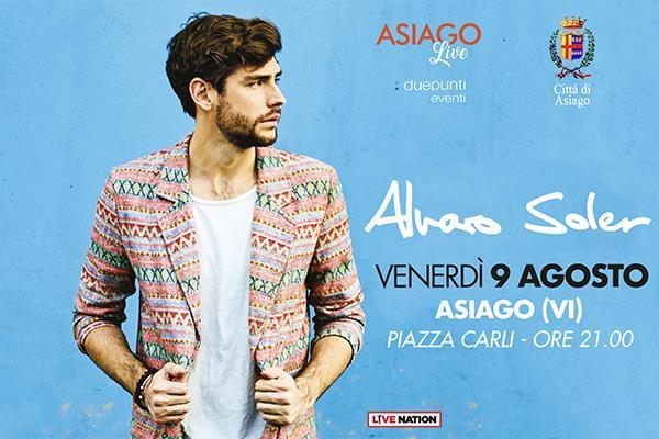 Asiago Live: Alvaro Soler