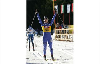 Cross-country ski race