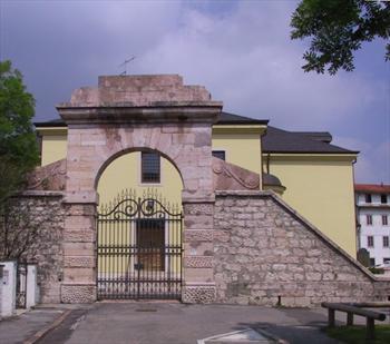 L'entrata del Museo Le Carceri