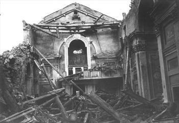 Ruins in Gallio