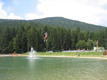 The lake of Roana