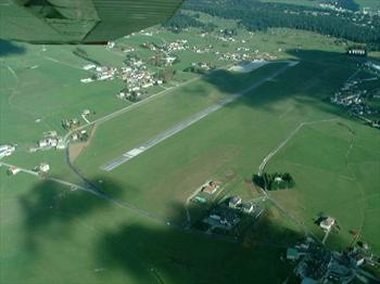 The airport of Asiago