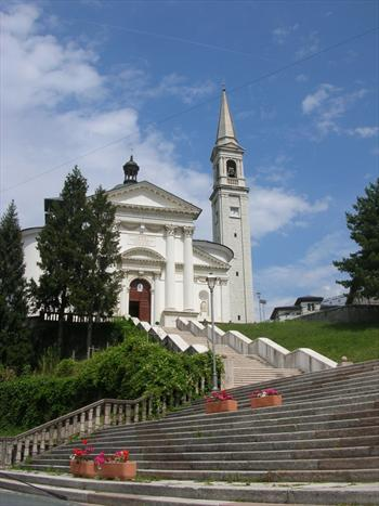 The church of Enego