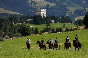 Horseback on the Asiago Plateau