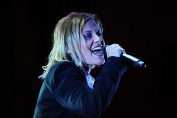 The singer Irene Grandi