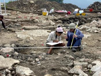 Scavi archeologici al Bostel di Rotzo
