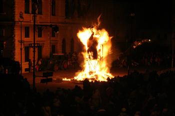 The burning of winter