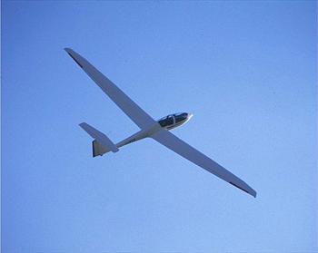 A glider flight in Asiago