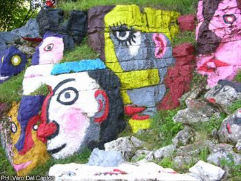 La Cava dipinta di Rubbio