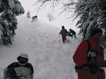 Snowshoeing in Asiago Plateau