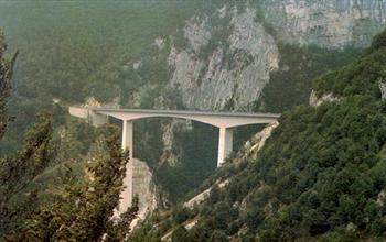 Il ponte sulla Val Gadena