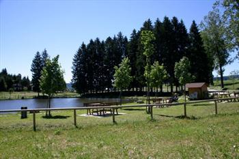 Il laghetto Lumera