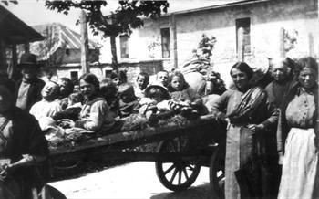 I profughi abbandonano Asiago