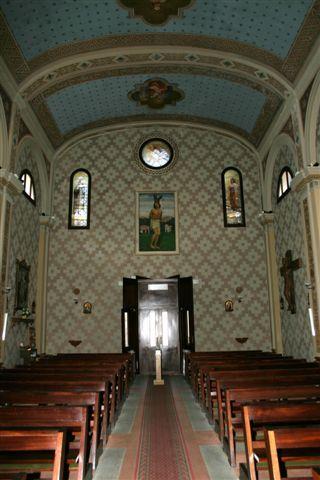 Interno della chiesa di San Rocco
