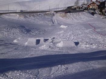 Lo snowpark di Asiago