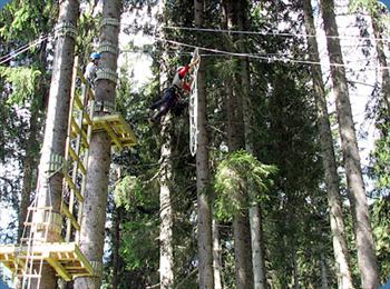 L'Agility Forest di Asiago