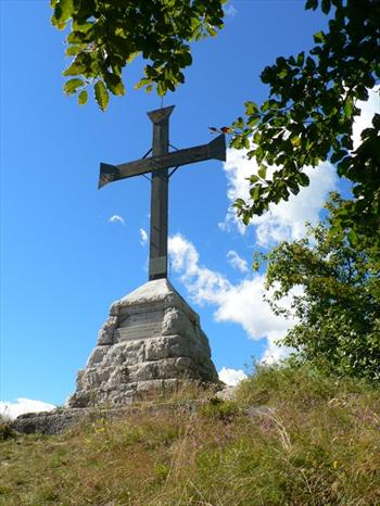 La croce dell'Altaburg