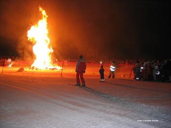Fiaccolata dei Maestri di sci