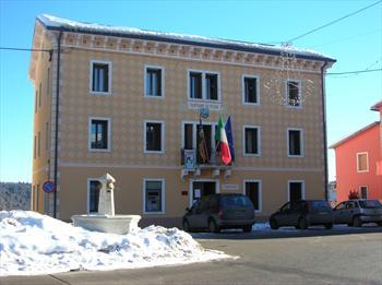 The city hall of Foza
