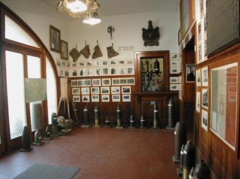 Interno del museo della Grande Guerra