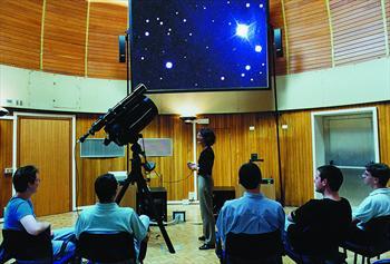Attività didattica all'Osservatorio