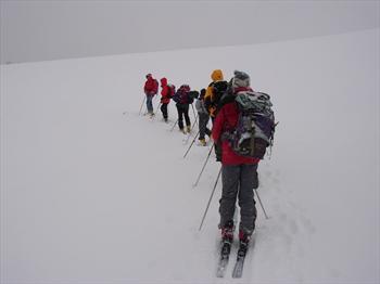 Escursione di sci alpinismo sull'Altopiano di Asiago (foto di Barbara Rodeghiero)