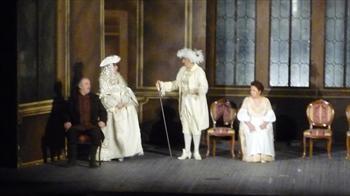 Show at theatre Millepini