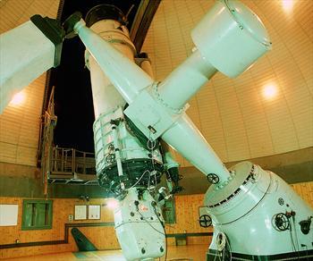 Il telescopio dell'Osservatorio
