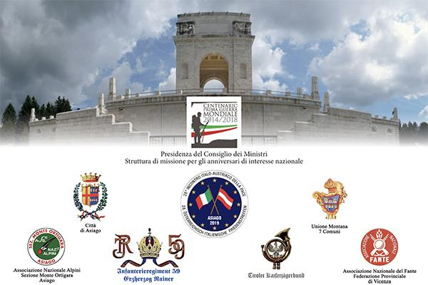 28° Incontro Italo-Austriaco della Pace a ricordo dei caduti e delle vittime civile della Grande Guerra